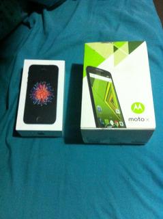 iPhone Se Nuevo Y Moto X Play