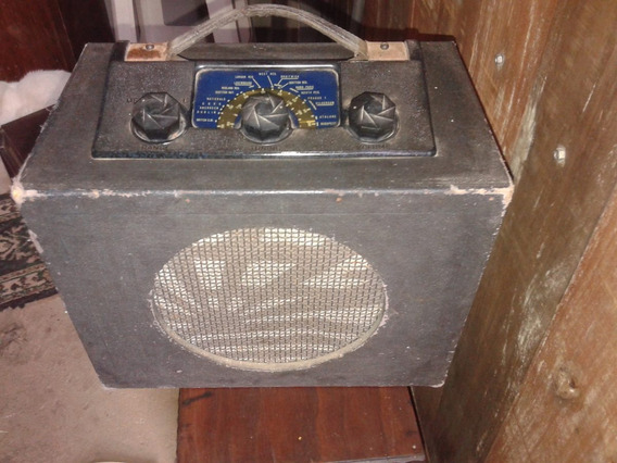 Radio Pye Modelo Baby Q Ano 1938