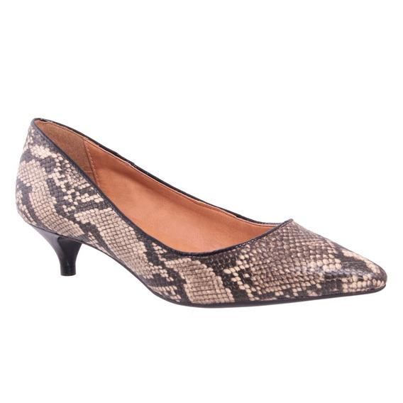 Sapato Preto/branco - Verniz Preto Via Uno