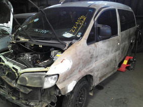 Sucata Hyundai H1 H100 Starex 2001 Vendo Peças Motor Cambio