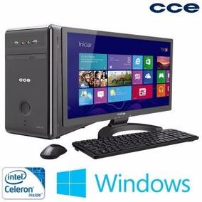 Computador Cce Com Processador Intel® Celeron-j1750, 2gb De