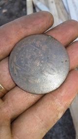 Moeda Rarissima 1829 Imperio Do Brasil Em Bronze 80 Francos