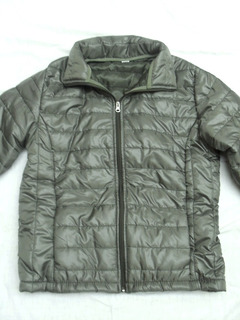 Campera Impermeable Acolchada Verde Mujer Nueva Talle S