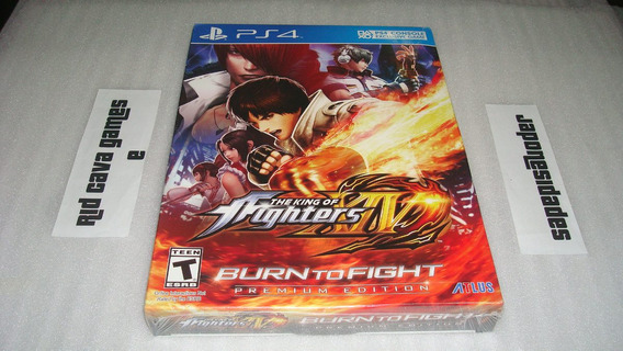 The King Of Fighters Xiv Burn To Fight Premium Edition Ps4