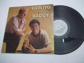 Lp Vinil - Carlito E Baduy - Sertanejo