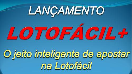 Imagem 1 de 5 de Lotofácil+ - A Maneira Inteligente De Jogar Na Lotofácil