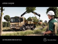 Mercedes Benz - Atego1518/48 4 X 2 Aleman