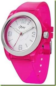 Km35424w Relógio Feminino Condor New Rosa Pink