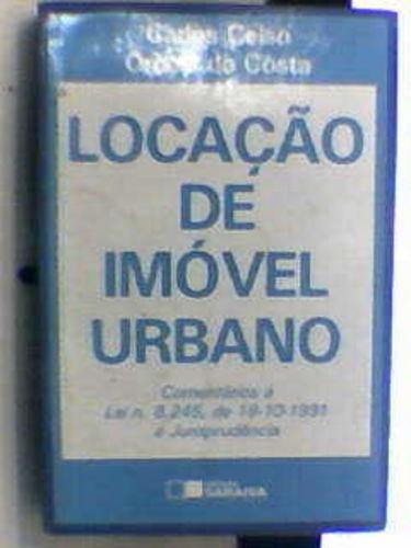 Livro Locação De Imóvel Urbano Carlos Celso Orcesi Da Costa