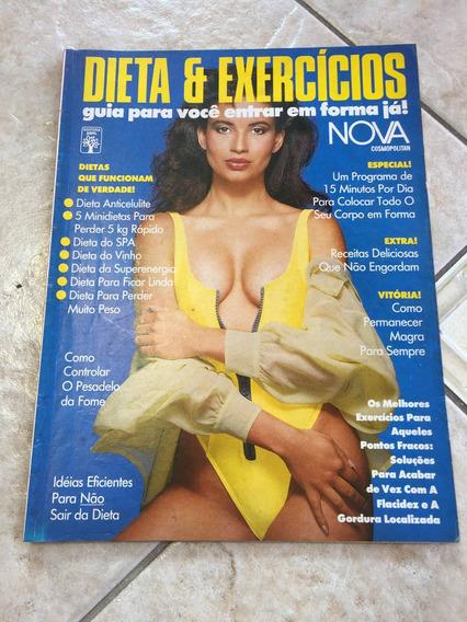 Revista Nova Dieta & Exercícios Antiga E Rara