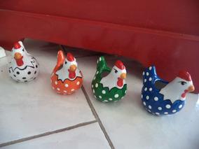 Galinha Portuguesa/porcelana/bibelôs/decoração/leia