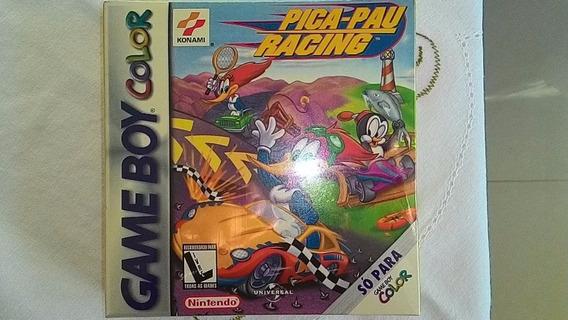 Game Boy Color Jogo Lacrado Pica-pau Racing Sem Uso