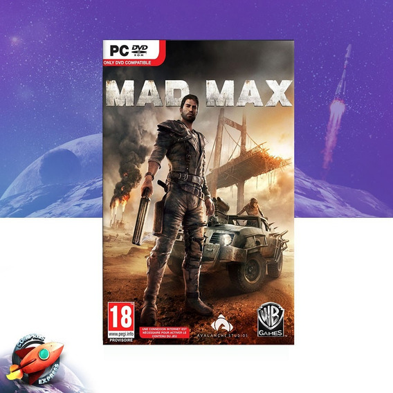 Mad Max Midia Digital - Pc Steam