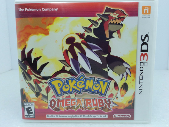 Pokemon Omega Ruby - Nintendo 3ds/new3ds - Ótimo Estado