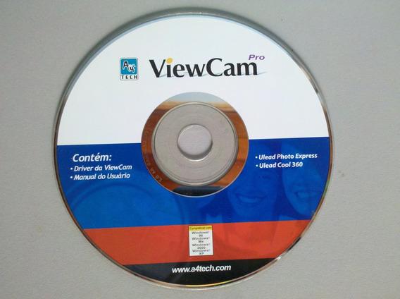 Cd Instalação Camera Viewcam Pro P/windows 98,me,2000,xp.