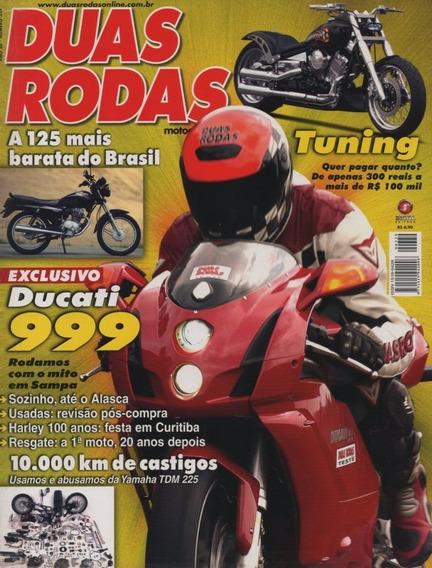 Duas Rodas N°339 Ducati 999 Yamaha Tdm 225 Sundown Hunter