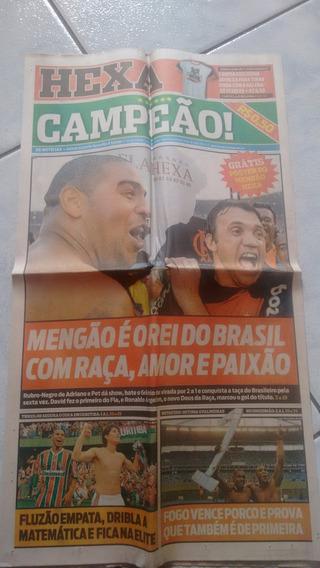 Coleção Flamengo Hexa - Jornais Raros E Inexistentes.
