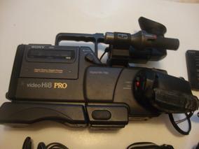 Câmera Digital Sony Hi8 Pro Ccd V5000 Com Assessórios
