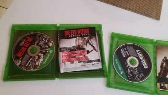 Jogos Xbox One Call Of Duty Advance E The Evil Within