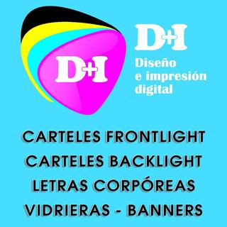 Carteleria Cartel Logo Banner Gigantografia Marquesina Led