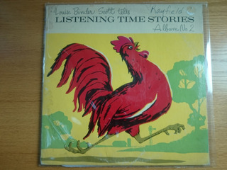 Vinilo Listening Time Stories - Cuentos Para Niños Album 2