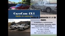 Alquiler De Camionetas Renta 4x4 Cuyocam4x4