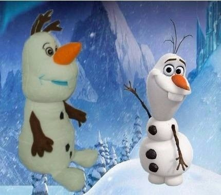 Boneco Bicho Disney Frozen Pelúcia Olaf #campeaodevendas