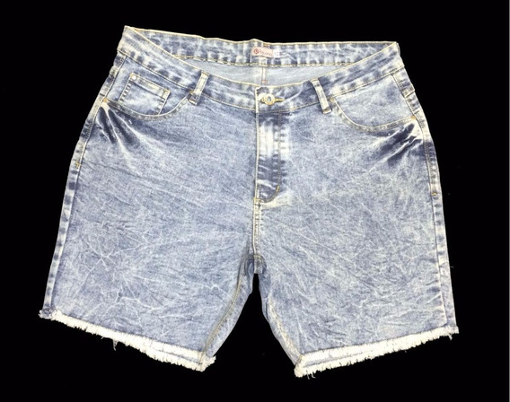 Short Feminino Jeans Tamanho Grande Peq Defeito 48ao56 6000