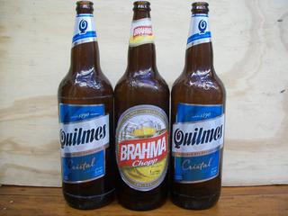 Envases De Cerveza Vacios 1 Litro X 12 Mas Cajon