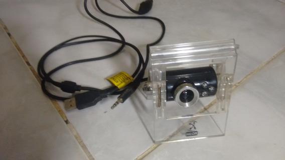 Webcam Neox Com Microfone E Iluminação