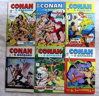 Coleção Hqs Conan -português + 560 Revistas Digital Em 8 Dvd
