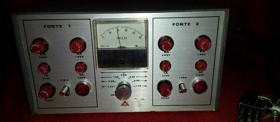 Fonte Dupla Amplificador Profissional Com Vu