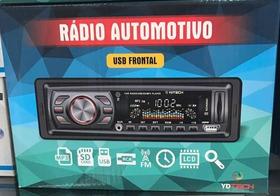 Radio Mp3 Player Mmc Card Fm Usb Sd P/ Pen Drive C/ Controle