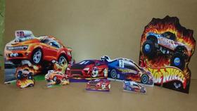 Kit Display De Chão Hot Wheels Com 4 Peças!!!