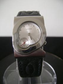 Antigo Relógio De Pulso Feminino Lince A Quartz