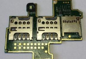 Flex Conector De Chip Sony Xperia M C1904 C2004