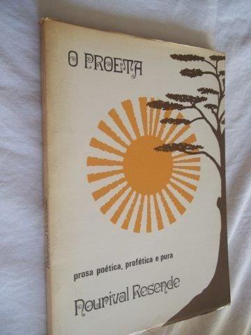 * Livro - Nourival Resende - O Proeta - Literatura Nacional