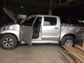 Sucata Toyota Hilux 3.0 Automática Ano 2012