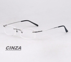 ab9819d45 Armação Em Titânio Memory P/ Óculos De Grau Haste Flexível · 7 cores. R$ 50