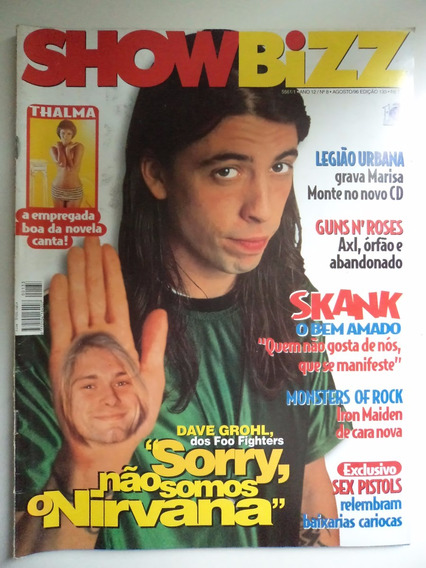 Revista Showbizz Ano 12 - N 08