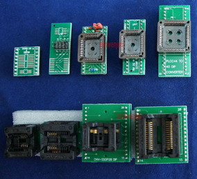 Kit De 9 Adaptadores + 25 Spi Flash Adapter Para Tl866xx
