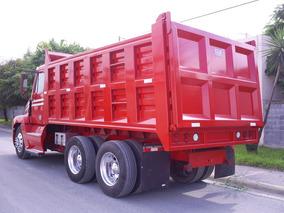 Conversión A Camion De Volteo 14m Con Caja Para Uso Rudo