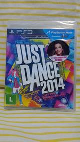 Jogo Just Dance 2014 - P S 3 + Revistas Brinde !!!