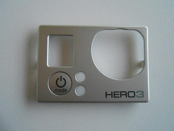 Tampa Frontal De Substituição Gopro Hero3 Silver Original