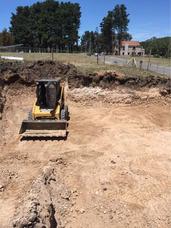 Excavaciones, Venta Tierras, Alquiler Minipala Bobcat Pala