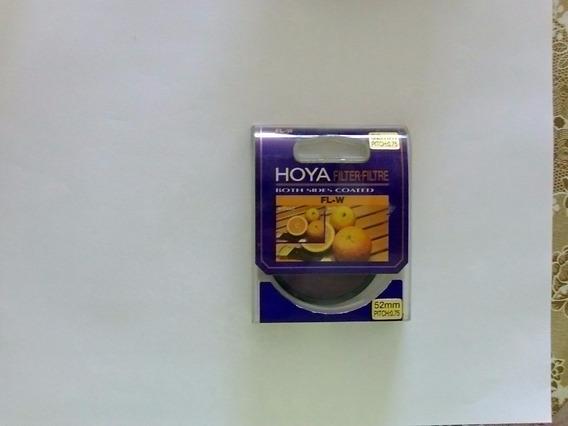 Filtro Hoya Fl-w Nunca Usado Para Canon, Sony, Etc 52 Mm