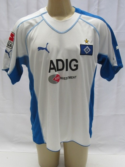 Camisa Futebol Hamburgo Alemanha #8 Benjamin Bundes Liga Enc