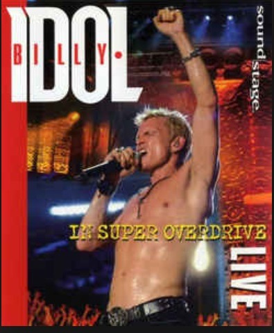 Dvd Billy Idol - In Super Overdrive Live - Nuevo - Sellado.-