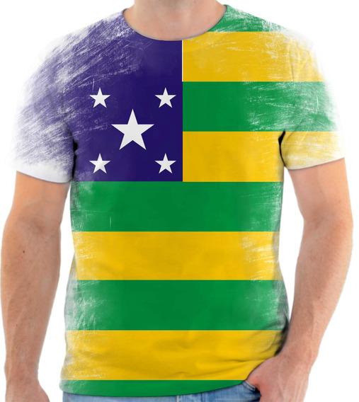 Camiseta, Camisa Bandeira Do Estado De Sergipe 2