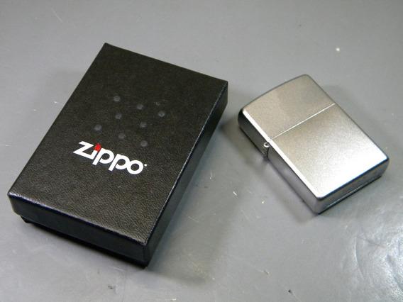 Zo205 Zippo Reg Satin Crome Encendedor Tradicional